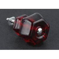 China Antique Ruby Red Glass Knob - 1-1/2 on sale