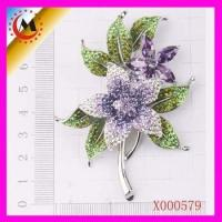 Buy cheap 2012 precious stones alloy brooch from Wholesalers