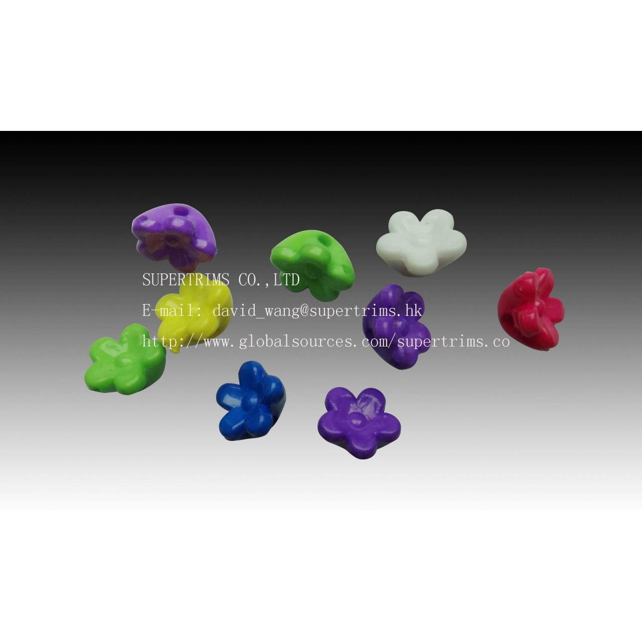 Buy cheap P106 clothing accessories,plastic garments decoration from Wholesalers