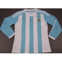 China Argentina Home Long Sleeve Soccer Jersey 2015-16 on sale