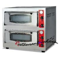 K329 2-Layer 2-Tray Electric/Gas Pizza Oven +86 20-34709971