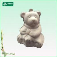 Lovable paper bear toy