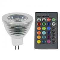 Wholesale 2.3$ USD MR16 RGB LED spot RGB LED Spot Light from china suppliers