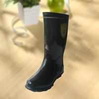 Wholesale High quality black rubber safety working knee boot from china suppliers