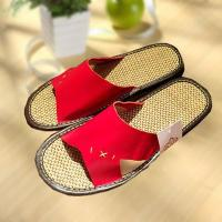 Wholesale Household comfortable couple leather slipper from china suppliers
