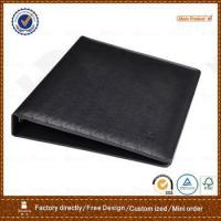 Wholesale oem/odm supplier zipper closure a5 leather notebook folder from china suppliers