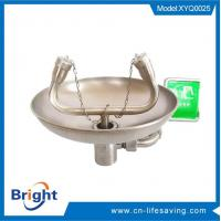 Wholesale EYE WASH WALL MOUNTED / INDUSTRIAL SAFETY SHOWER (SFT-0593) wall mounted eyewash from china suppliers