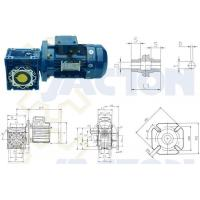 Wholesale Right Angle RV Worm Gear Reducers from china suppliers
