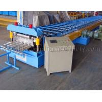 China Full Automatic Construction Building Metal Roof Deck Roll Forming Machine on sale