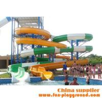 Wholesale fiberglass spiral adult slides aqua theme park tubes equipment amusement rides price for sale from china suppliers