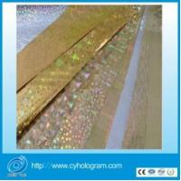 China Plastic Transfer Paper with Holographic Design on sale