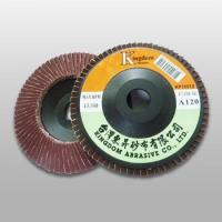 Wholesale KP100 KP-A/O Aluminum Oxide Flap Disc (Plastic Backing) from china suppliers