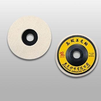 China PW100 PW-Felt Polishing Disc (Plastic Backing)