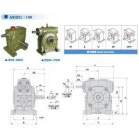 Wholesale HW straightprofiletorus worm gear reducer from china suppliers