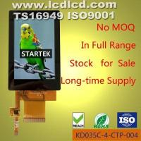KD035C-4-CTP-005 3.5 inch 320*480, ILI9488, high brightness TFT LCD with capacitive touch panel