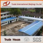 Wholesale Steel building Glass wool sandwich panel modular house from china suppliers