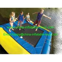 Wholesale water games amusement water park inflatable water trampoline-WG-012 from china suppliers