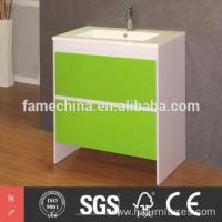 Buy cheap floor mounted MDF bathroom cabinet from Wholesalers