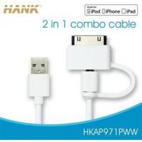 Wholesale 2-in-1 Combo Cable with 30Pin+Micro USB from china suppliers