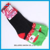 Buy cheap Wholesale Christmas Microfiber Cosy Socks from Wholesalers