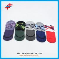 Wholesale New Arrival Custom Boys Colorful Invisible Socks from china suppliers