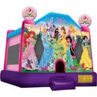 Wholesale Disney Princess 2 Jump Bounce House Ships within 24-72 hours via Freight Truck from china suppliers