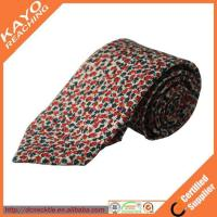 Wholesale beautiful design fashion style custom print silk tie from china suppliers