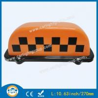 Wholesale Orange Taxi Top Sign from china suppliers