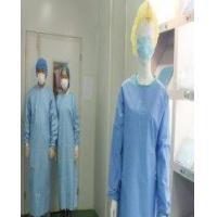 Buy cheap Surgical gown with knitted cuff from Wholesalers