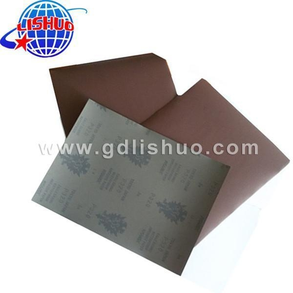 Quality Silicon Carbide Sand Paper for sale