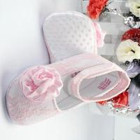 Wholesale Chic satin girls shoes with lace-BHGB0420 from china suppliers