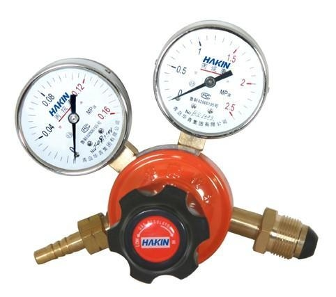 propane gas regulator (yqw 02) of item 43464748
