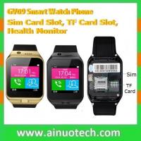 GV09 bluetooth smart wrist watch for android ios windows