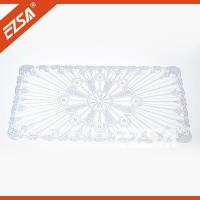 Wholesale EZS Hot Product Restaurant Printing PVC Oval Eco-friendly Banquet Style Table Cloth from china suppliers