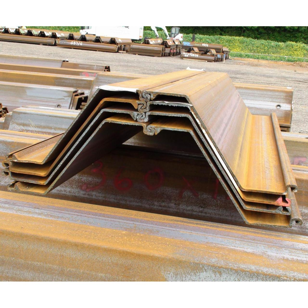 Wholesale Z type Sheet Pile from china suppliers