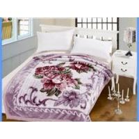 Wholesale 1 ply korean style raschel mink blanket GE-B90042 from china suppliers