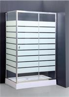 Buy cheap rectangle shower enclosure with pattern from Wholesalers