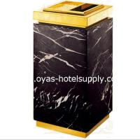 Buy cheap Trash bin with ashtray from Wholesalers