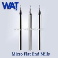 Wholesale 2 Flute Micro Flat End Mills from china suppliers