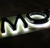 Quality Halo Light 3D Stainless Steel Letter for Outdoor Sign for sale