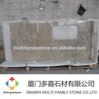 Buy cheap Giallo Ornamental Granite kitchen countertop from Wholesalers