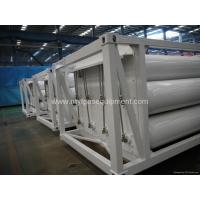 2013 China made Hot Sale CNG Jumbo-tube-skid 40-feet Containers with 12-CNG-Tube
