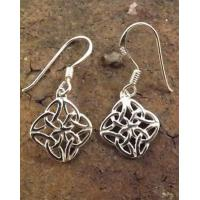 Buy cheap Plain Diamond Silver Celtic Drops from Wholesalers