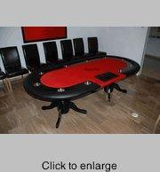 Wholesale Poker Tables Custom Racetrack Poker Table from china suppliers