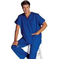 Buy cheap Unisex V-Neck Scrubs Top from Wholesalers