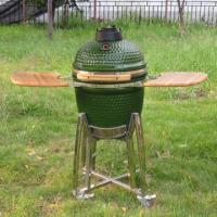 Buy cheap 18 inch Green Ceramic grill from wholesalers