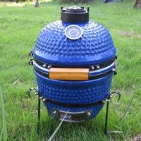Buy cheap 13 inch Mini ceramic Blue egg BBQ from wholesalers