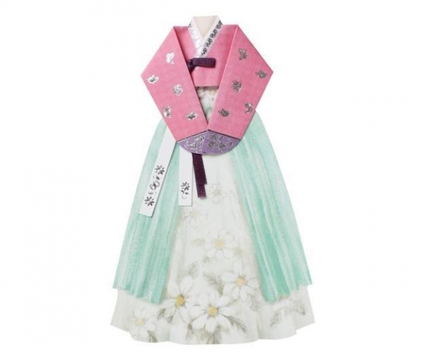 Quality Hand made Hanbok Card -1 for sale