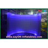 Wholesale Events / Promotion Curved Wall Mobile Photo Booth L3 x W1.5 x H2m from china suppliers