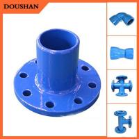 Wholesale Cast Iron Pipe asme standard bevel ends pipe fitting tee metal casting from china suppliers